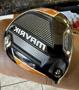 Left Handed CALLAWAY MAVRIK 10.5* DRIVER HEAD ONLY! **EXCELL