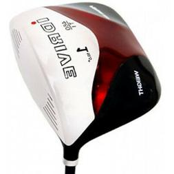 "NEW BIG TALL XL MENS LEFT HANDED +2"" LH SQUARE DRIVER GOLF C"