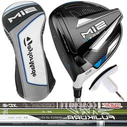 TaylorMade SIM MAX D Driver LEFT HAND - Pick Your Custom Exo